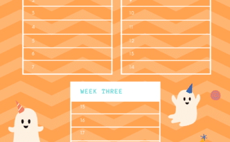 Halloween 21-Day Flossing Challenge by Sunnyvale Dentist Jen Chiang DDS
