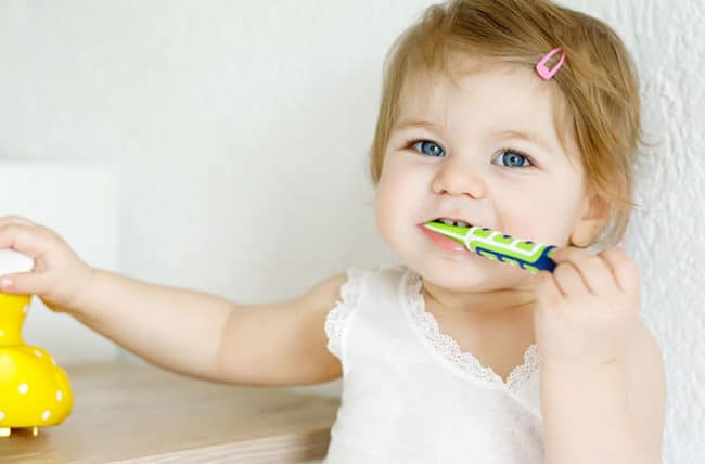 Infant Dental Visits are recommended after their first tooth erupts and before their first birthday. Schedule now with your Sunnyvale Functional Dentist Jennifer Chiang now.